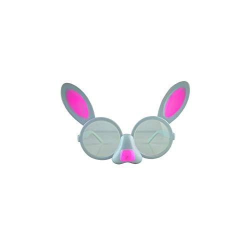 Kostüm Muster Kaninchen - Lustige Gläser Kostüm Party Brille Attraktive Kaninchen Muster Gläser Props lustige Neuheit für Geburtstagsfeierbevorzugungen