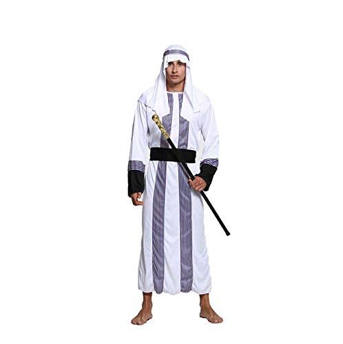 Blisfille Halloween Kostüm Kostüm Maskerade Cosplay Erwachsenen Männlichen Nahen Osten Arabischen Roben Kleidung Weibliche Dubai Kleid M Für Damen