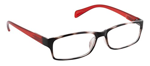Michael Pachleitner Group Lesebrille Smile  / +2,00 Dioptrien / braun/rot