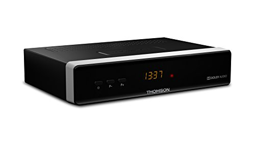 Thomson ricevitore satellitare HD digitale (HDMI, SCART, SAT IN/OUT, Ethernet, USB 2.0 di tipo A, S/PDIF coassiale)