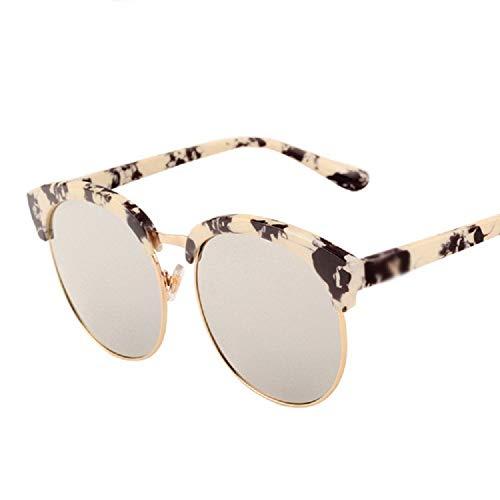 WFF Korean half frame sun sunglasses, big box ladies sunglasses, men driving sunglasses,2,Cm
