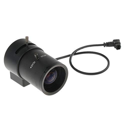 Baoblaze 2,8-12mm Auto Iris Kamera Objektiv CCTV Varifocal Manuelle 3MP CS Mount für Überwachungskamera 10 Mm Auto-iris