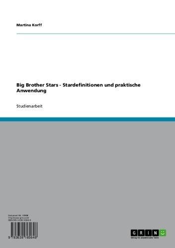 Big Brother Stars - Stardefinitionen und praktische Anwendung (Big-brother-star)
