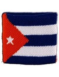 Digni® Poignet éponge avec drapeau Cuba