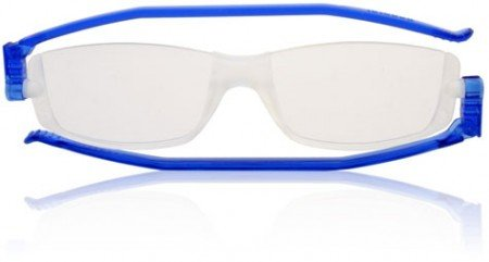 Reading Glasses Nannini Compact 2 Folding Reading Glasses Blue-strength +3.00 -
