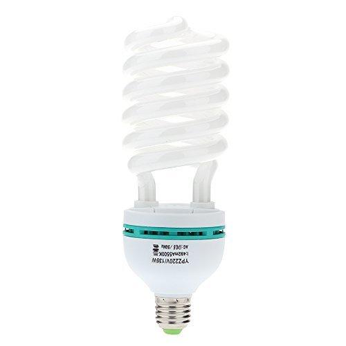 Andoer E27 220V 5500K 135W Fotostudio Bulb Video Fotografie Helle Tageslichtlampe