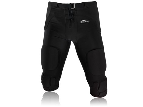 Full Force Herren Gamehose Stretch mit integrierten 7 Pads All in One, Schwarz, L, FF0208270211