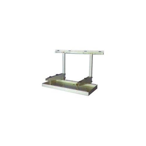 bac à condensats en acier pour groupe extérieur de climatisation 800 x 400 mm