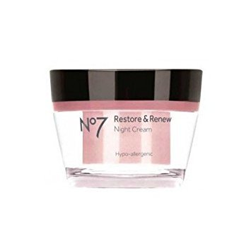 No 7 Restore and Renew Night Cream 50ml