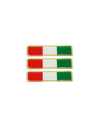 Quattroerre 483Sticker Tris Flaggen Italien 3d