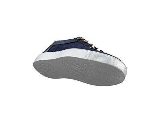 DIS - Giulio - Slip-on Sneakers - Unisexe Bleu