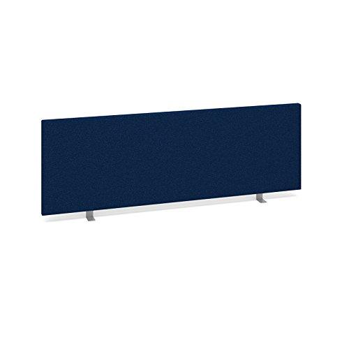 Bureau-lphant-Oe08-es1200s-b-droites-Desk-Mounted-cran-Longueur-1200-mm-Hauteur-400-mm-Profondeur-40-mm-recouvert-dun-tissu-bleu-Fourni-avec-2-x-arrire-Supports-et-1-x-Fixation-latrale
