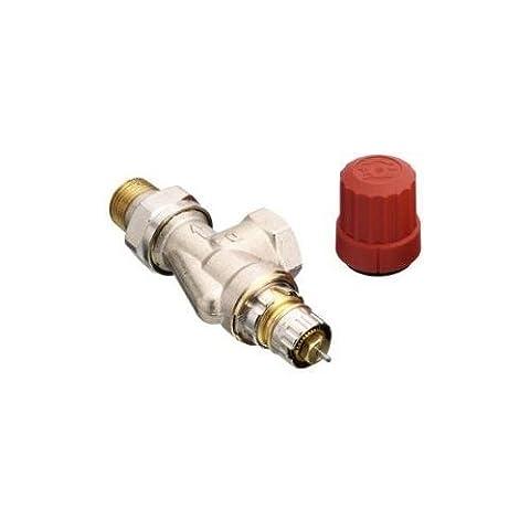 Danfoss Thermostat-Regelventil UK Axial Typ RA-N 15 R 1/2 Zoll