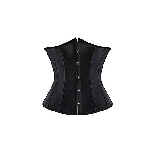 Pevv Wason women corsets Sexy Korsett und Taille Bustiers Top Workout-Form-Körper-Gurt Plus Größe Wäsche S-6XL, schwarz, XL (Plus Womens Workout Shorts)
