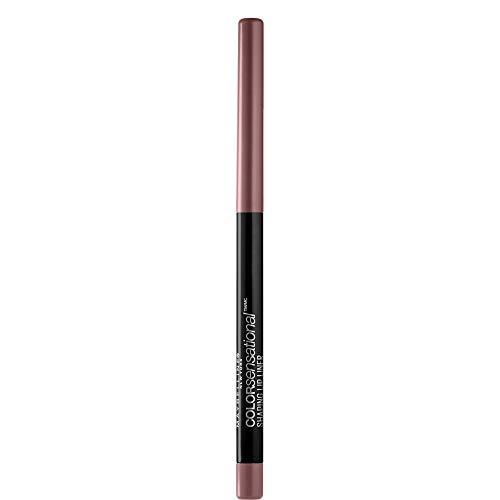 Maybelline new york color sensational shaping lip liner matita labbra, effetto volumizzante, 08 gone greige