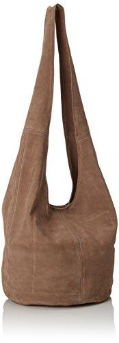 Think - Think! Bag, Borse a spalla Donna Beige (Kred 22)