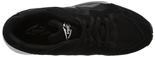 Puma Unisex-Erwachsene Prevail Low-Top Schwarz (puma black-quiet shade-puma white 01)