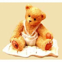 Cherished Teddies Figure 599352 A Gift to Behold - Baby Girl by Cherished Teddies -