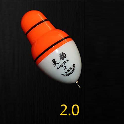 VCB Elektronische LED-Licht-Fischen-Hin- und Herbewegung kann Farbe ändern Nachtfischen-Hin- und Herbewegung - Grün (Version 2.0) -