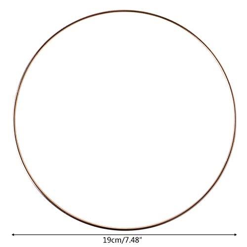 tcher Ring Makramee Handwerk Kreise DIY Zubehör 35-190 mm 10 ()