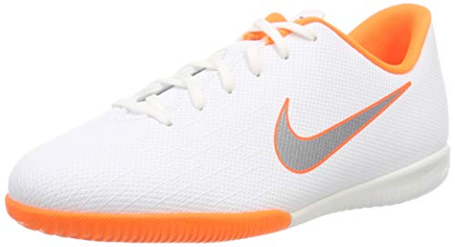 Nike Jr. MercurialX Vapor XII Academy Younger/Older Kids'Indoor/Court Football Shoe - White Thumbnail Image