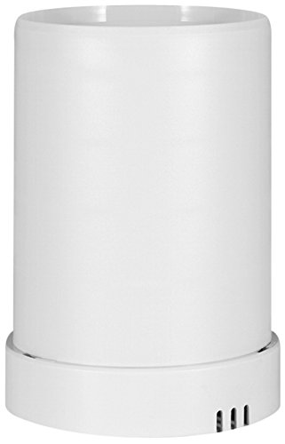 Mobile Alerts MA 10650 Regensensor,Pro Series, Zusatzsensor, Datenübertragung auf das Smartphone, Alarmierung via Push-Mitteilung, weiß, 13,3 x 13,3 x 18,5 cm