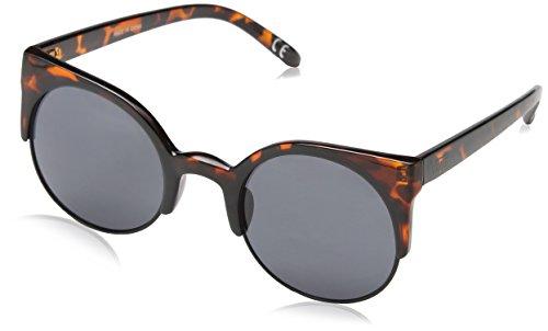 Vans Damen Sonnenbrille Halls & Woods Sunglasses Braun (Tortoise Shell), Herstellergröße: One Size