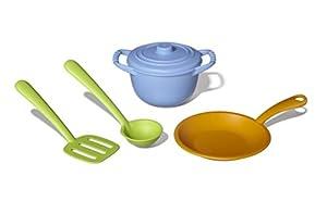 Green Toys - Chef set, utensilios de cocina (CHF01R)