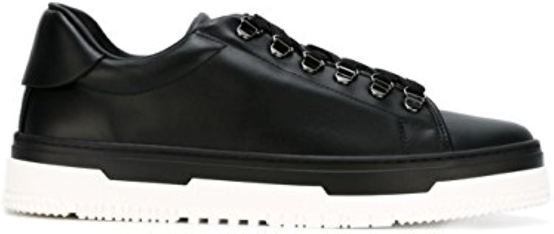 Valentino Garavani Herren LY2S0943BRS0NO Schwarz Leder Sneakers