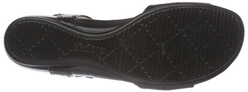 ECCO Touch 25 S, Scarpe Col Tacco con Cinturino a T Donna Nero (Schwarz (BLACK/BLACK53960))