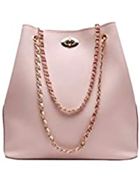 Bizarre Vogue Women's Handbag (BV001225_Peach)
