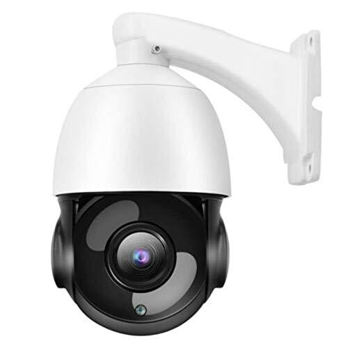Outdoor WiFi IP Kamera 30X Zoom Optische Kamera Ptz HD 1080P Dome Sicherheit Ir Kamera Sicherheit Portable Durable - Weiß