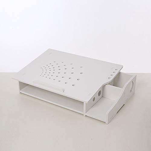 Supporto per computer desktop porta computer dissipatore di calore fai da te proteggere stand cervicale computer per macbook, apple, laptop,a
