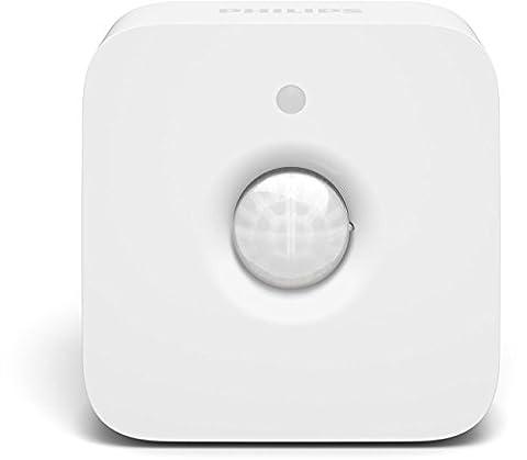 Philips Hue Bewegungssensor, intelligenter Bewegungsmelder, integrierter Tageslichtsensor, Zubehör für Ihr Philips Hue System