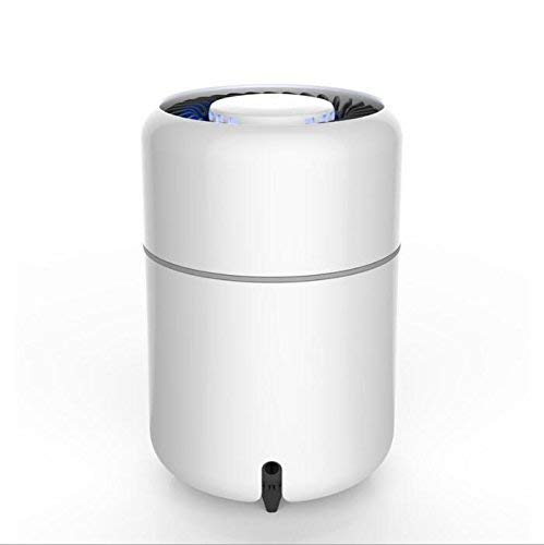 EEvER Cama con Dosel mosquiteras Mosquito Asesino y luz de Carpa LED Modo Actual LED con batería y Cable USB Portátil/Trekking/Uso Diario confiable, Blanco (Color : White)