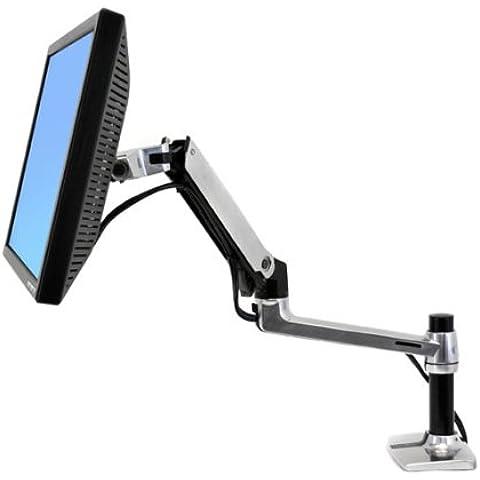 Ergotron LX Series Desk - Brazo móvil para monitor, negro