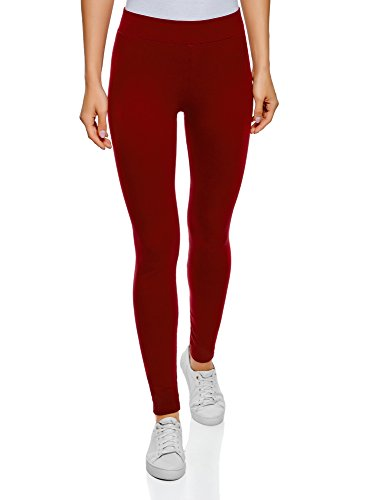 oodji Ultra Damen Leggings Basic (2er-Pack), Mehrfarbig, DE 36 / EU 38 / S