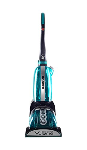 Hoover CJ625 CleanJet Volume Carpet Cleaner, 4.5 Litre, 600 Watt - Black/ Turquoise