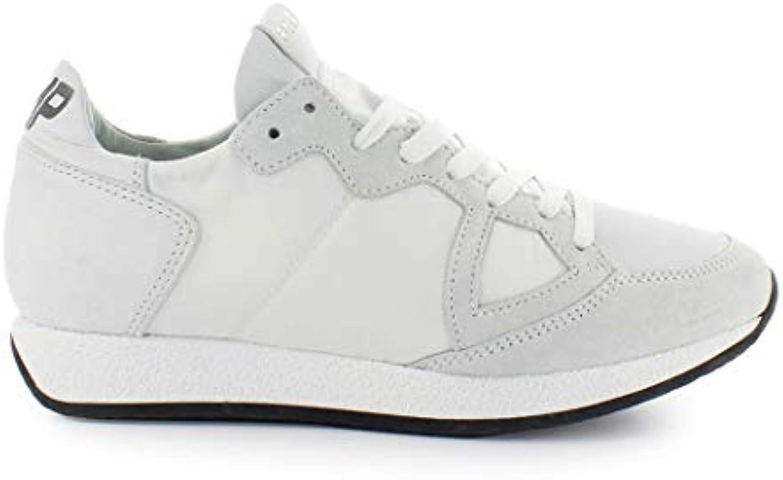 Philippe Model Scarpe da Uomo scarpe da ginnastica Monaco Vintage Bianco SS 2019   Online Shop    Scolaro/Signora Scarpa