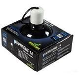 REPTILES PLANET Éclairage Support de lampe avec réflecteur Reptidome 14 d14 X H 18,2 cm