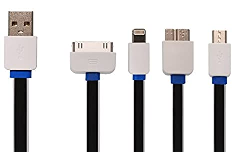 4 en 1 chargeur OKCS® câble de chargement de recharge