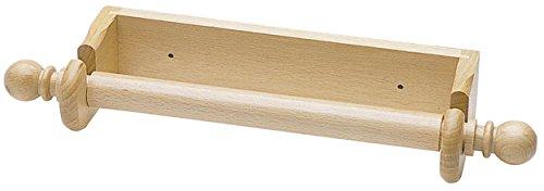 Kitchen craft - portarotolo da cucina in legno di faggio