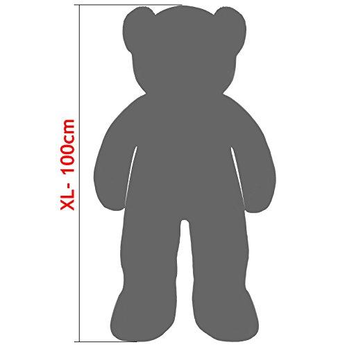 bbca34fb4b681 Deuba Oso de peluche gigante XL 100cm Suave