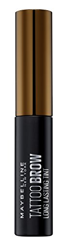 Maybelline New York Tinta per Sopracciglia Peel-off Tattoo Brow, Risultato Definito fino a 3 Giorni, 2-Medium Brown, 4.6 g