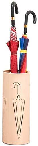 TZSMYSJ Umbrella-Stand, Kamin Geschnitzte und wasserdicht Regenschirm Stand Schirmständer Schirm for den Haushalt Steht TZSMYSJ-A001 (Farbe : Rosa, Größe : Einheitsgröße)