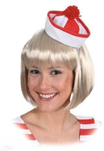 Militär Matrosen Kostüm - Fancy Me Damen Sexy Matrose Mini Hut Militär Hen Party Kostüm Kleid Outfit Zubehör - Rot