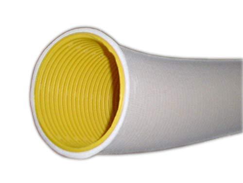 10 meter Drainagerohr DN 50 gelb gelocht und 10m Filterschlauch als PROFI SET