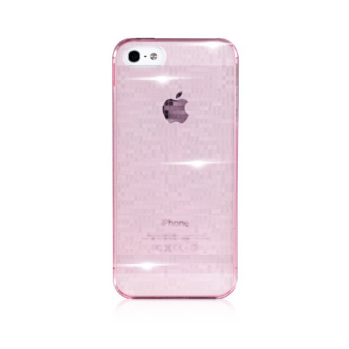 Bling-My-Thing Motoki Design MOSAIC Case for iPhone 5 (Tinted Pink) mi5-ms-pk-non