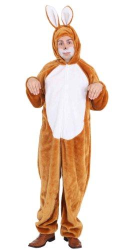 Hasenkostüm Unisex Kostüm Hase zu Karneval Fasching (Zauberer Und Hase Kostüm)