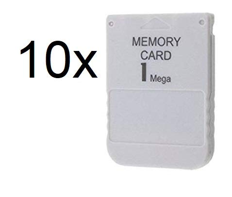 PS1 Memory Card 1 Mega Memory Card for Playstation 1 One PS1 PSX Game Useful